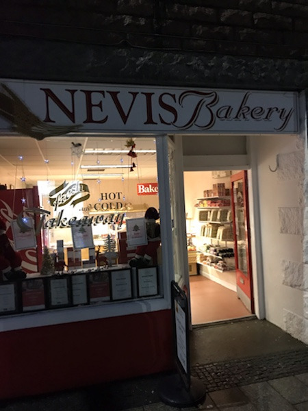 Nevis Bakery Fort William