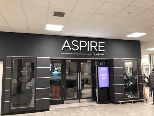 aspire lounge Edinburgh international airport