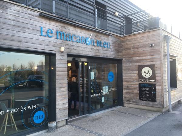 Le Macaron Blue reims
