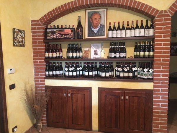 wine tasting Cascina Rossa