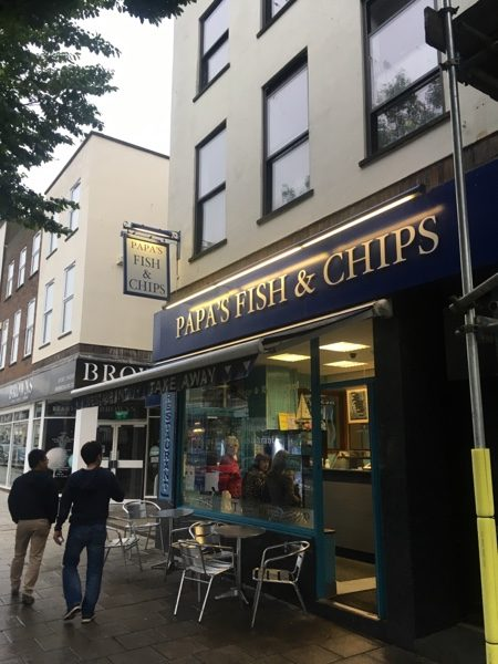 Papa's Fish Restaurant and Takeaway folkstone