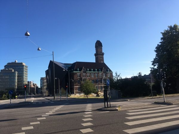 malmo city walking morning run