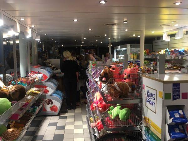 Ferry from Rødby to Puttgarden