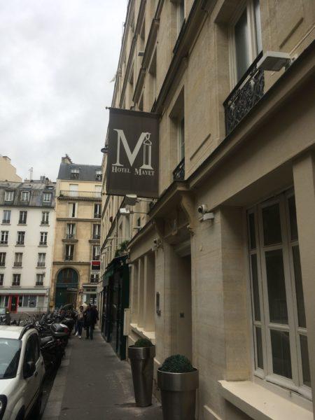 Hôtel Mayet paris